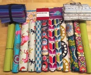 Fabric stash Quiltcon 2015